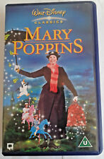 Walt Disney Classics - Mary Poppins (Julie Andrews) Animated Classic VHS Video