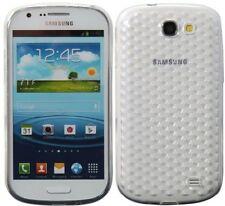 Housses et coques anti-chocs transparents transparents Samsung pour téléphone mobile et assistant personnel (PDA)