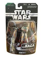 2006 Hasbro - Star Wars Saga Collection #006 - Boba Fett Action Figure - New Oop
