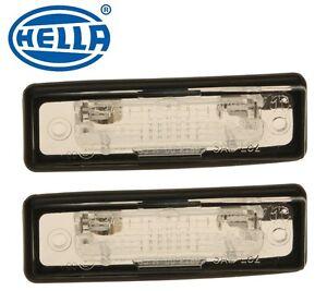 For BMW E12 E23 E24 E28 E30 Set of 2 License Plate Lights OEM Brand NEW