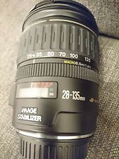Canon EF 28-135mm F3.5-5.6 IS USM AF Macro Lens. with Front & Rear lens Cap.