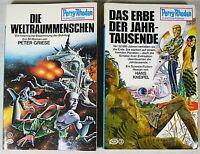 Perry Rhodan Taschenbuch 1 Weltraummenschen /3 Erbe der Jahrtausende Aufl. 1 + 3
