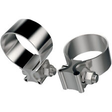 Kit Abrazaderas De Escape Para Harley-Davidson Stainless Steel Muffler Clamps