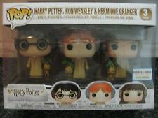 Harry Potter,Ron Weasley,Hermione Granger (3 pack) Funko Pop Barnes&Noble excl.