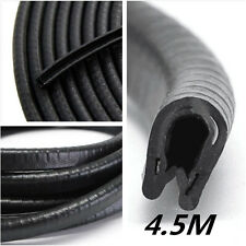 4.5M U-Type Rubber Car Door Noise Insulation Anti-Dust Soundproof Sealing Strips