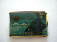 PINS CARTE SANTE TELEPHONIQUE MUTUELLE DE FRANCE TELEPHONE
