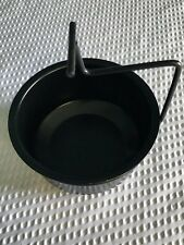 Barbecue Gas Grill Universal Black Grease Cup with Holder Bracket ******