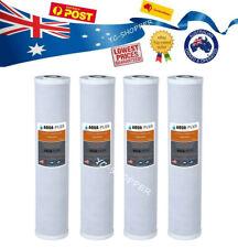 "4 X Big Blue Water Filter Coconut Carbon Cartridges 5 Mic 4.5"" x 20"""