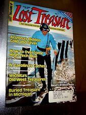 Lost Treasure Magazine June 1989 Treasure Hunting Gold Silver Coins