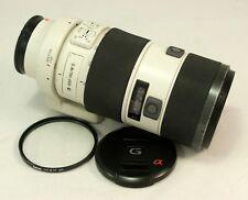 Sony 70-200mm f/2.8 SSM Obiettivo Zoom G SAL70200G C/W Sony Tappi, treppiede + FILTRO
