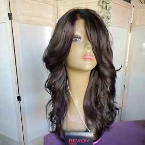 Bridgette by Revlon Wig. color is Coffee Bean. Gorgeous lace front wig, NWT