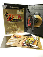 NINTENDO GAMECUBE GAME THE LEGEND OF  ZELDA LIMITED EDITION