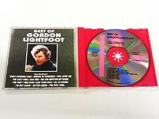 GORDON LIGHTFOOT BEST OF CD 1991
