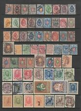 Russia early collection, 153 stamps MH or used
