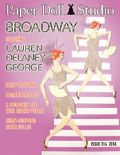 """Paper Doll Studio Magazine Issue #116 """"BROADWAY"""" Theme from 2016"""