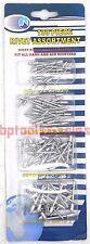 100pc Pop Rivet Assortment Set Aluminum for Blind Riveter Gun Hand & Air
