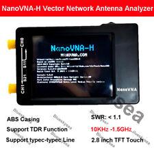 NanoVNA-H 50KHz-900MHz Vector Antenna Network Analyzer VNA HF VHF UHF w/ Shell