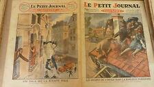 PETIT JOURNAL - 1926 - N° 1856 inondations SARCELLES / chute d'une folle