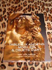 Catalogue de vente - ARTCURIAL - Tableaux anciens, mobilier & objets d'art 2006