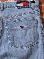 VTG Tommy Hilfiger sz 18 fit like S M 4 6 Mom Jeans High Waisted Denim Box Logo