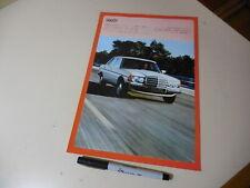 Mercedes-Benz 300D Japanese Brochure W123  1977?