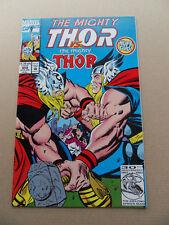 Thor 468 . Thor Vs Thor . Marvel 1993 . VF