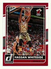 2015-16 DONRUSS HASSAN WHITESIDE ASSISTS PARALLEL #1/1! ONLY ONE OF ONE IN SET!