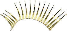 Gold CarLashes (r) 3D Headlight Eyelashes Accessories for all Volkswagon Car