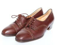 Vintage Leather Brogue / Lace-Up Shoes - Brown - Womens  - UK 5.5