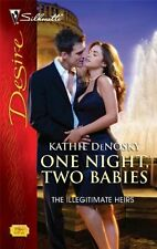 One Night, Two Babies (Silhouette Desire)