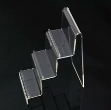 5PCS Clear Acrylic Wallet Jewelry Display Stand Holder Show Caraft Rack General