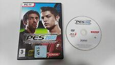 Pes 2008 pro Evolution Soccer PC Game Cd-Rom Spanish