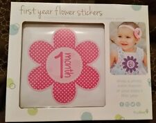 New Girl's Tiny Ideas Baby's First Year Stickers