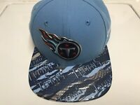 Tennessee Titans NFL New Era 9FIFTY Adjustable Snapback Hat Cap Blue RARE