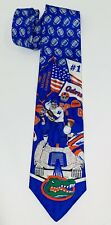 MergeLeft Florida Gators College Football 1996 National Champions Neck Tie EUC