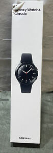 New Sealed Samsung  Galaxy Watch4 Classic Stainless Steel 46mm BT Blk Ships Fast