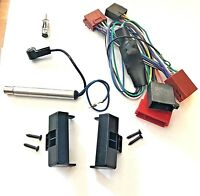 Autoradio Blende Aktiv System Audi A4 B5 inkl. Phantomeinspeisung