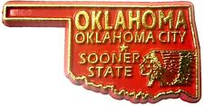 Oklahoma the Sooner State Souvenir Fridge Magnet