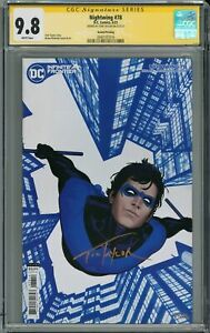 NIGHTWING #78 2ND PRINT CGC 9.8 SIGNED BY TOM TAYLOR 1st Melinda Zucco