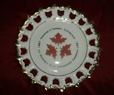 Centennial of canadian confederation 1867-1967 plate