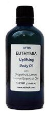 ATTIS Euthymia Uplifting Body and Massge Oil - 100ml | Handmade | Vegan
