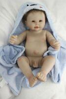 50cm Full Body Reborn Baby Dolls Waterproof Boy Toddler Kid Anatomically Correct