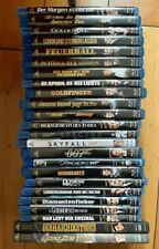 Blu Ray / DVD Sammlung James Bond 24 Filme