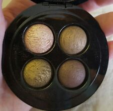 MAC Mineralize Eye Shadow Quad~A HARVEST OF GREENS~RARE Great Gift! WORLD SHIP