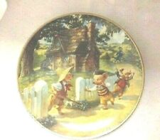 Vintage The Three Little Pigs Knowles Classic Fairy Tales Collector Plate 1991