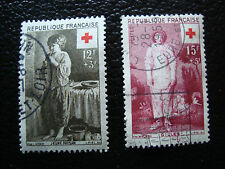 FRANCE - timbre yvert et tellier n° 1089 1090 obl (A18) stamp french