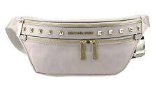 Michael Kors Kenly studded Women Medium Waist Fanny Pack Bag CEMENT