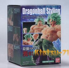 DRAGON BALL STYLING Super Saiyan SS BROLY Full Power Figure BANDAI