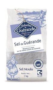Le Paludier Celtic Sea Salt Fine 1000g Hand-harvested and unrefined. Guerande