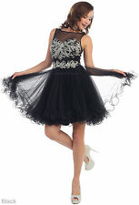 ! SALE ! SEMI FORMAL HOMECOMING DRESS UNDER $100 SHORT PROM DANCE COCKTAIL FLOWY